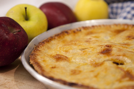 photo tarte aux pommes du colonel Rogers