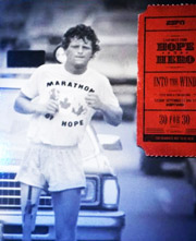 photo affiche couleur film Terry Fox