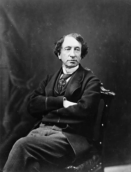 photo portrait noir et blanc John A. Macdonald