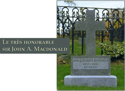 tombe Sir John A. Macdonald