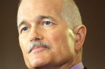 Photo portrait couleur Jack Layton